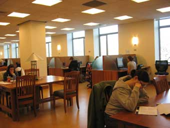 information commons at simmons college. Black Bedroom Furniture Sets. Home Design Ideas