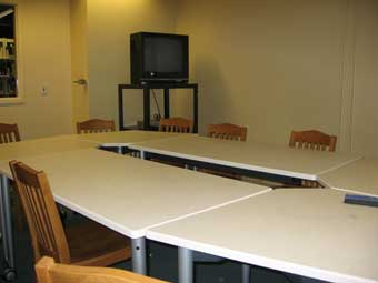Glickman Library Group Study Room